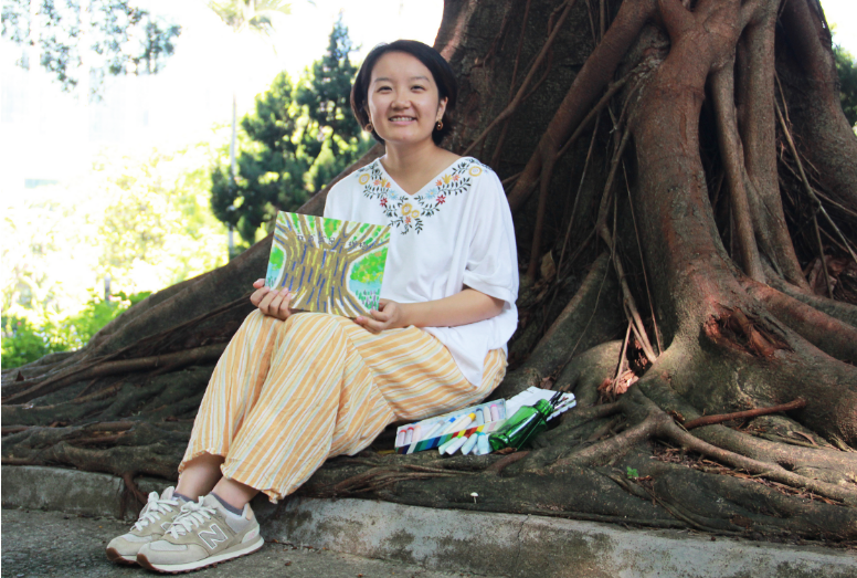 繪本作者故事時間|溫柏萱和《我爸爸是一棵樹》
