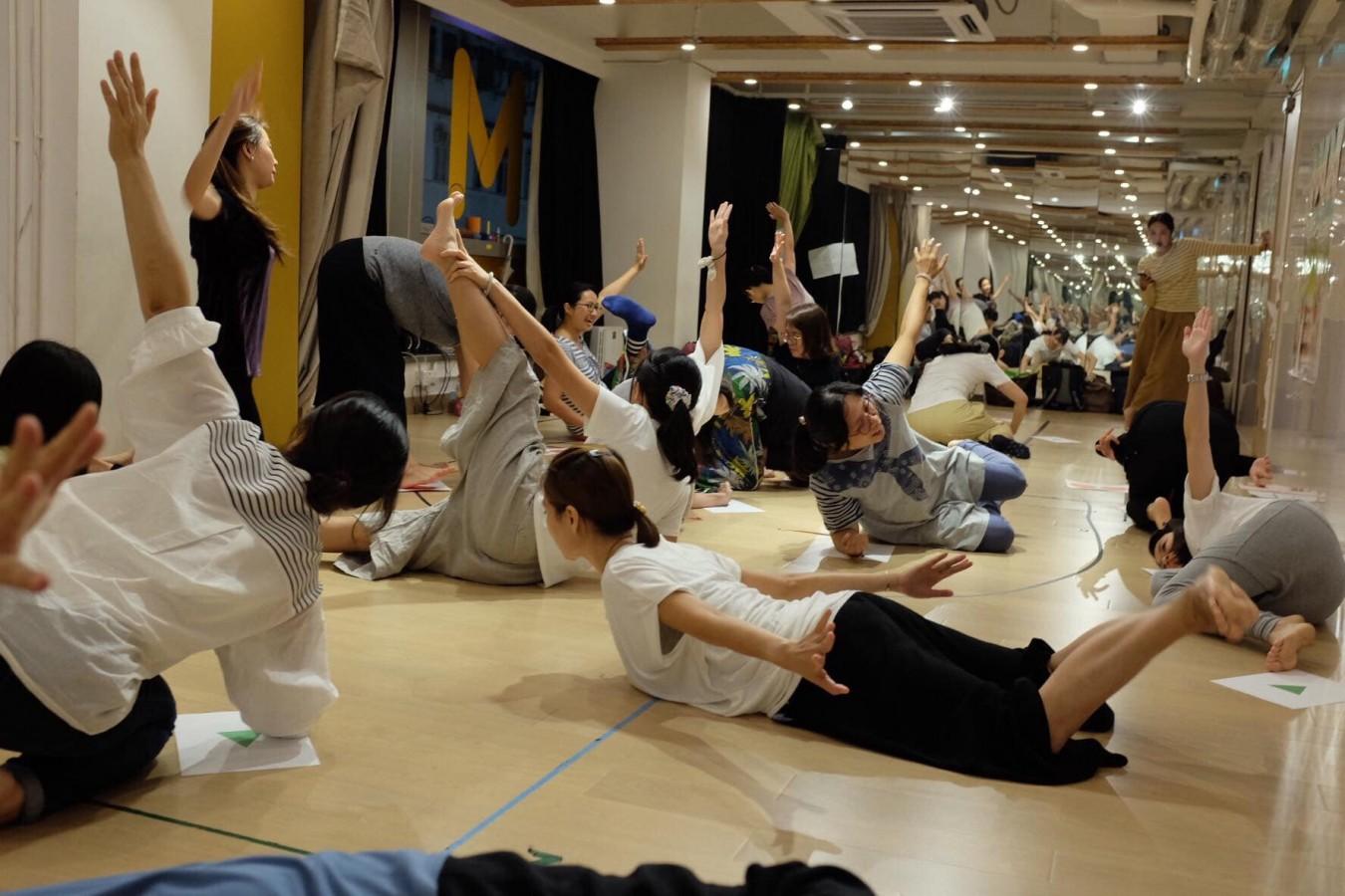身體遊樂場 |「律動與身體」成人培訓基礎課程 (2020年12月 共三節)