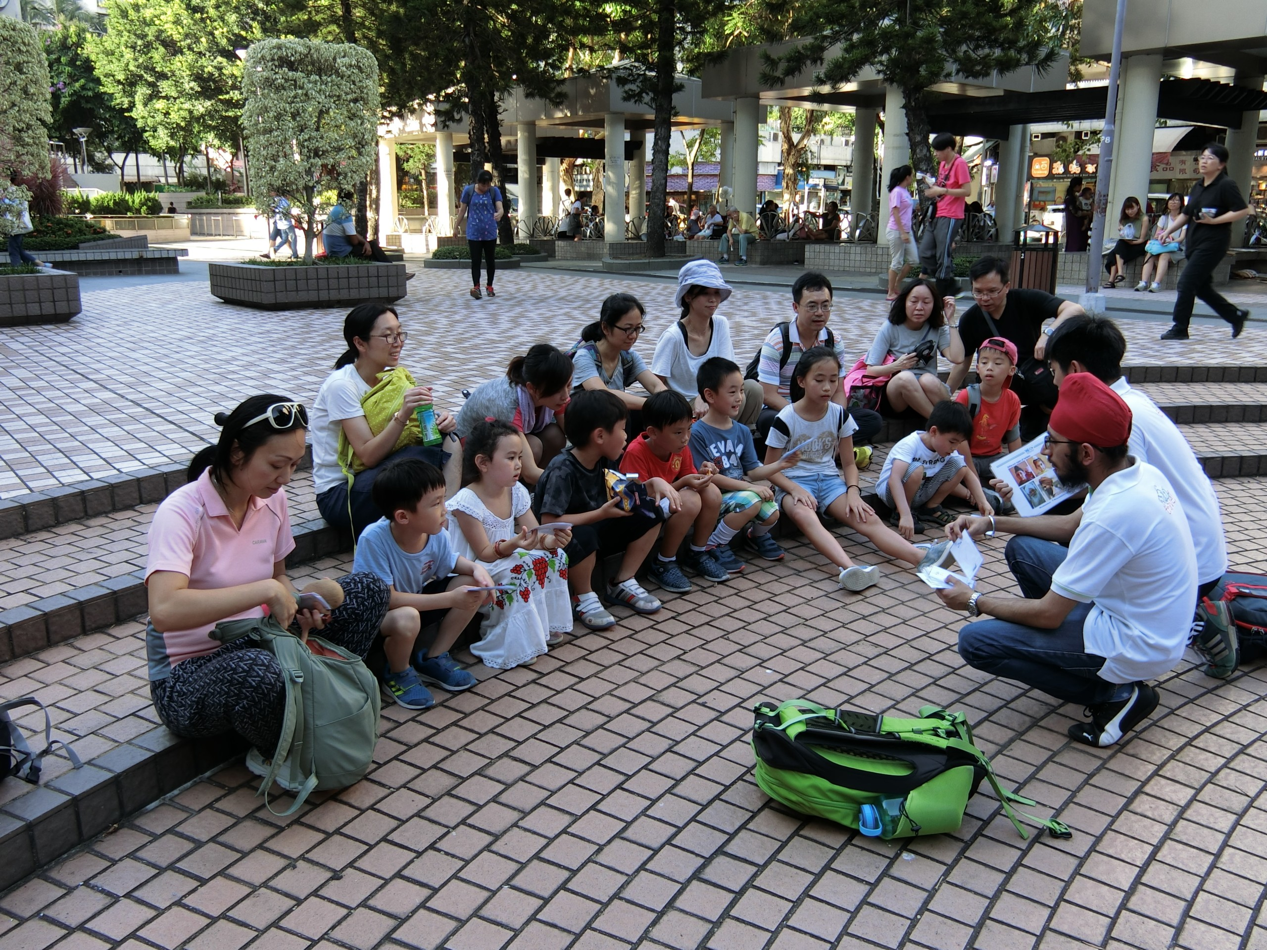 「綠腳丫3-6歲走讀讀書會」帶領人培訓班 (2018-06)