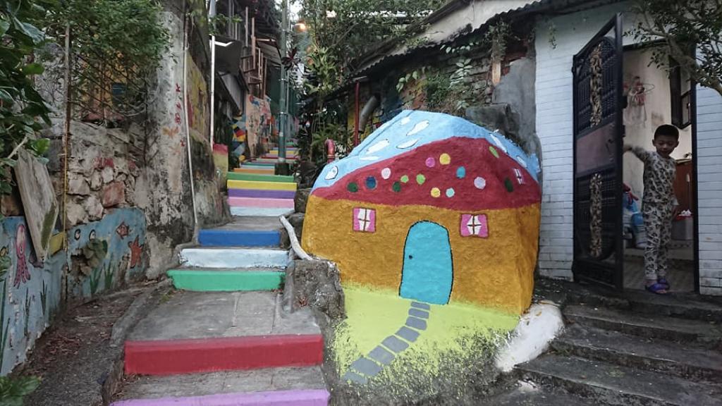 一起繪畫社區|兒童壁畫村0901