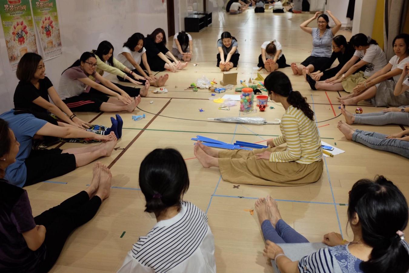 身體遊樂場 |「律動與身體」成人培訓課程 (2019年3月 共三節)