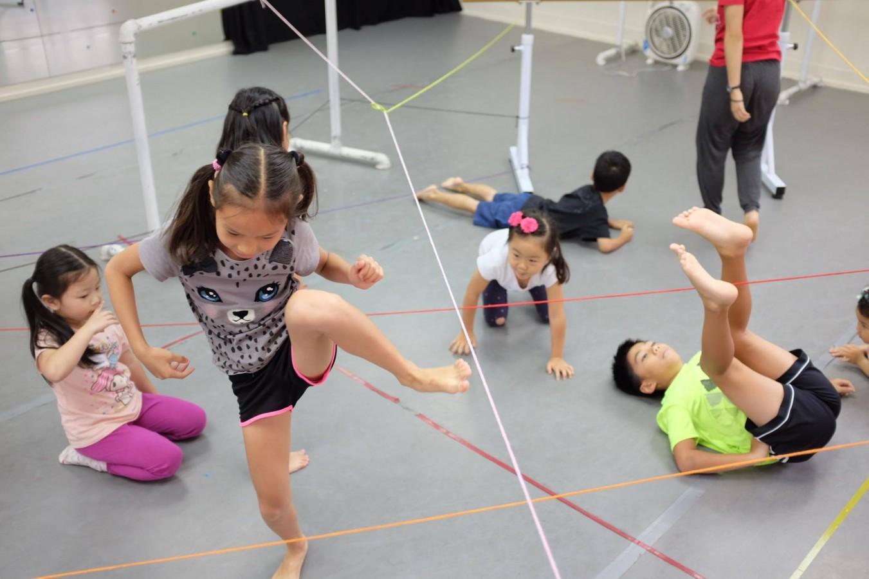身體遊樂場|暑期5天身體課 (7-12歲兒童班)