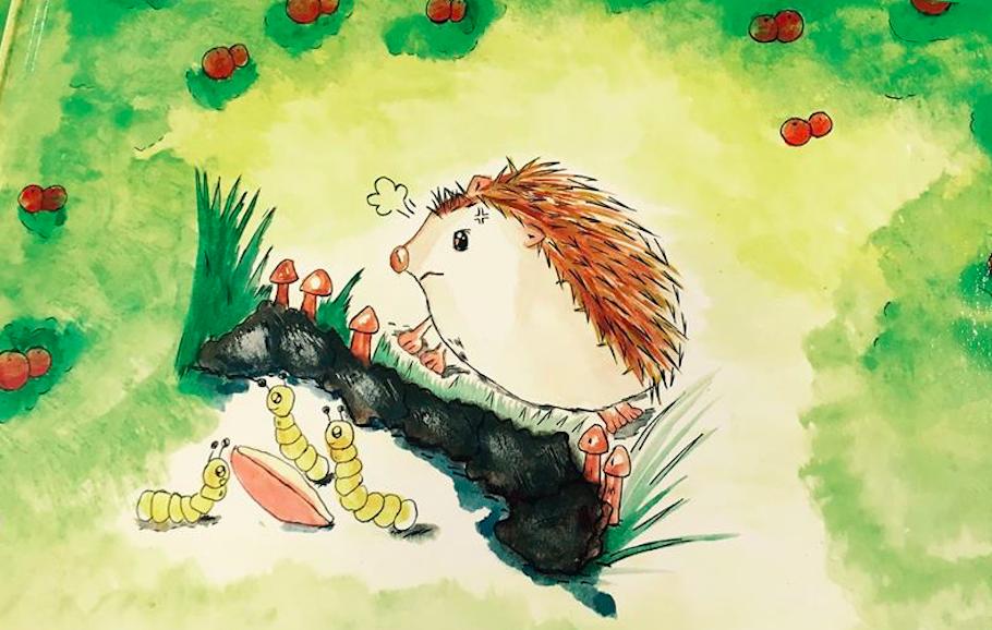 百好繪本士多 | 作者故事時間:《走進森林的刺寶寶》X 版畫工作坊