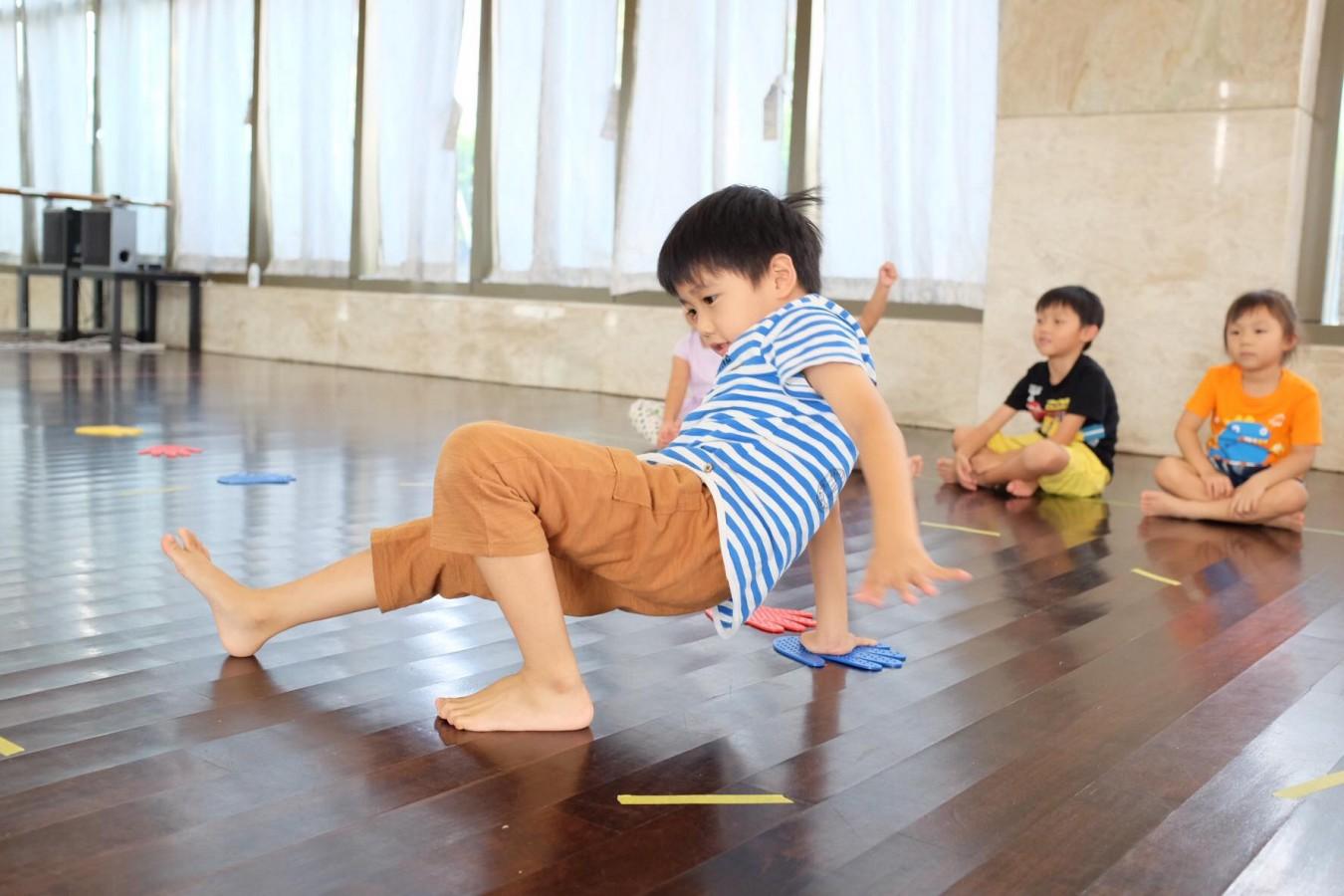 身體遊樂場 | 幼兒恆常身體課 ─ 免費試堂 (指定日子)