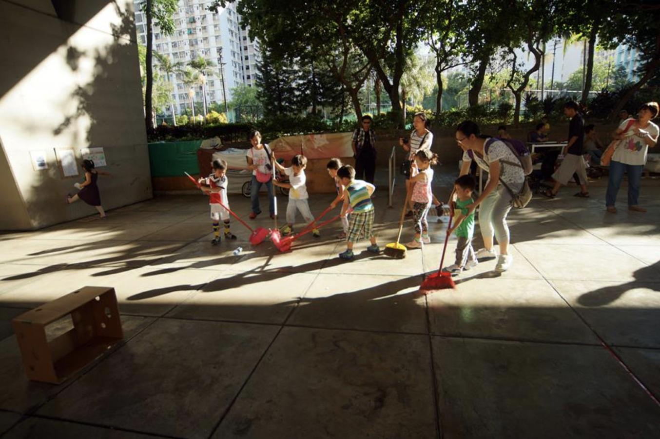街頭社區遊戲日親子實習計劃
