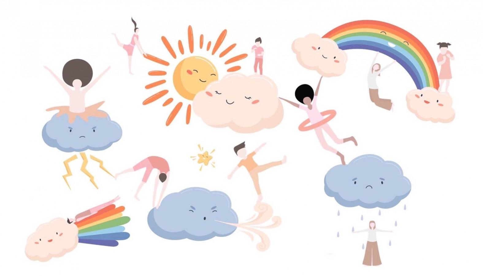 身體遊樂場   「瘋狂天氣舞會」網上互動身體課 (適合6-9歲小學生)
