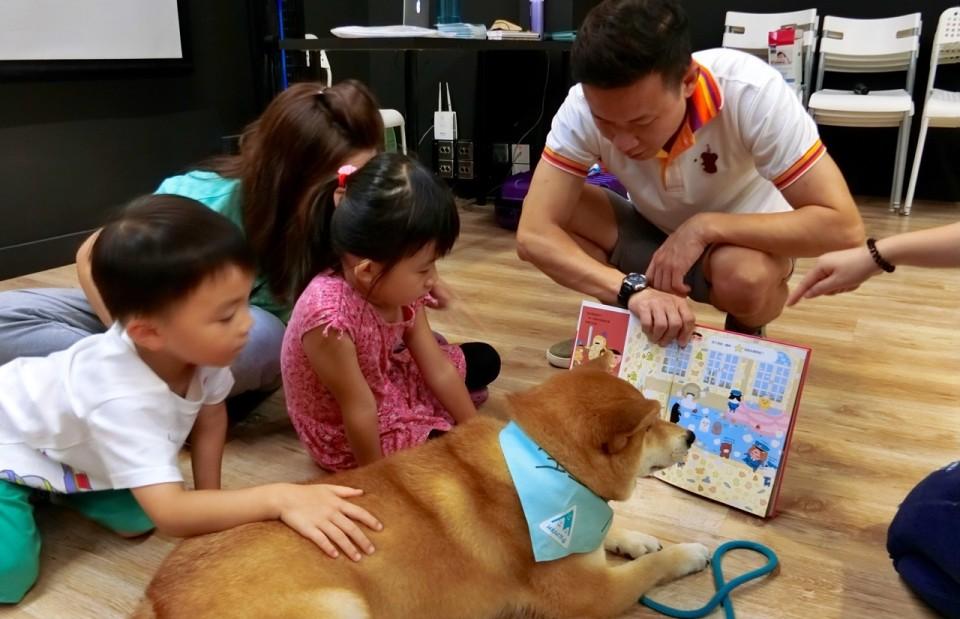 《讀書給狗兒波妮聽》關懷閱讀障礙兒童讀書會|【中西繪本童樂@西九】 (已額滿)