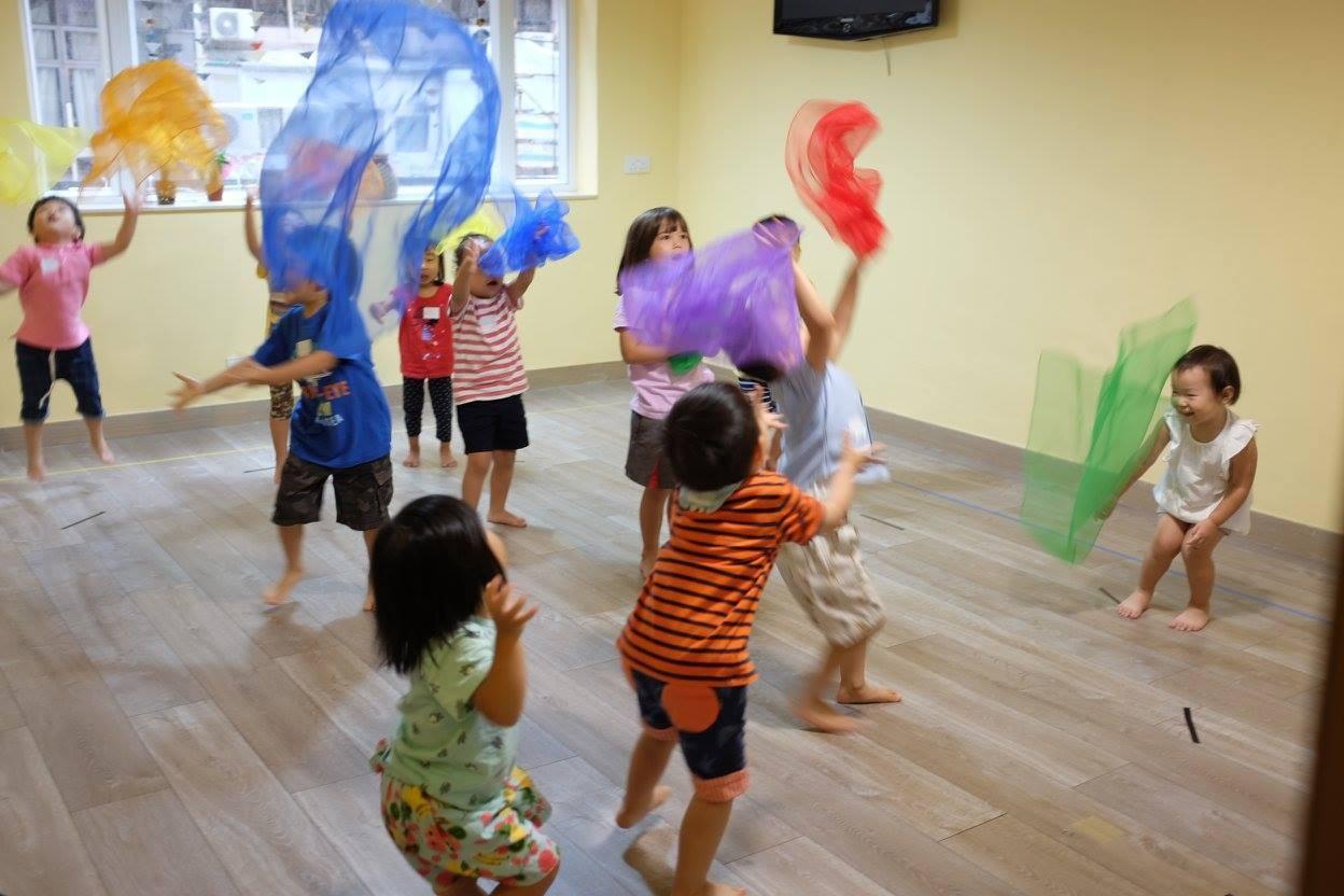 身體遊樂場|暑期5天身體課 (3-6歲幼兒班)