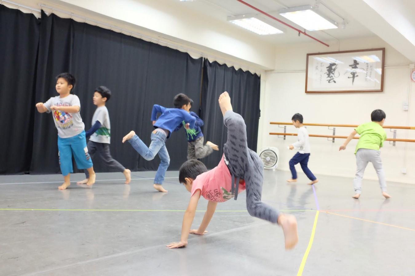 身體遊樂場 | 兒童自主身體課 (恆常課程) (8-9月)